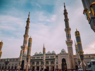 Une mosquée de Médine, en Arabie Saoudite