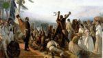 Un marché aux esclaves aux Etats Unis