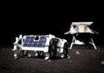 Des engins de la NASA sur la surface de la Lune
