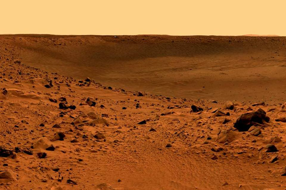 Paysage de Mars
