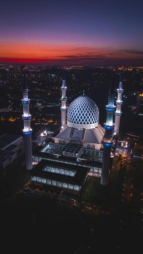 Une mosquée en Malaisie