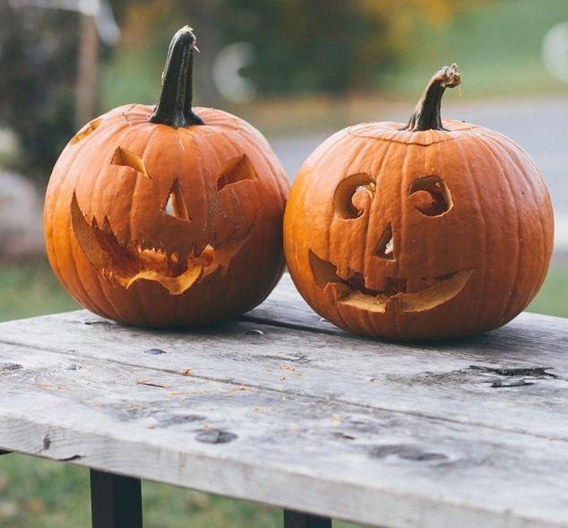 Des citrouilles, symboles d'Halloween