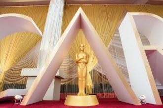 La statuette donnée aux Oscars.