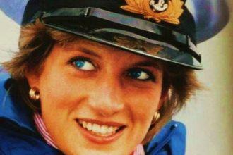 Portrait de Lady Diana.