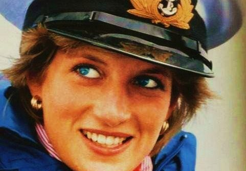 Portrait de Lady Diana.